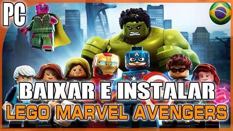 tutorial lego avengers tutorial como baixar e instalar lego marvel avengers pt