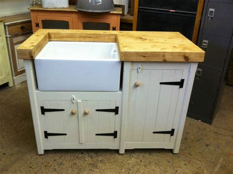 Handmade Kitchen Units - handmade freestanding rustic country farmhouse butler