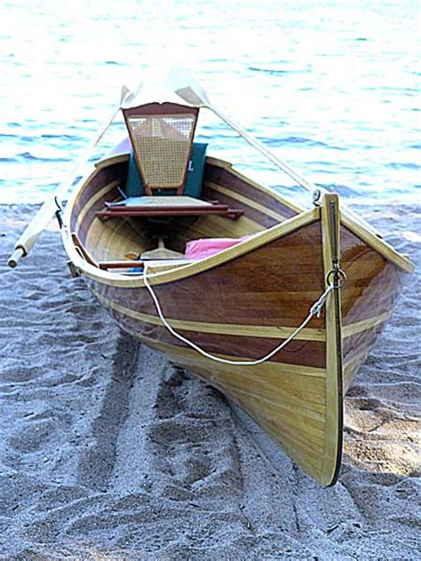 small wooden boat newfound woodworks adirondack guide boat guillemot