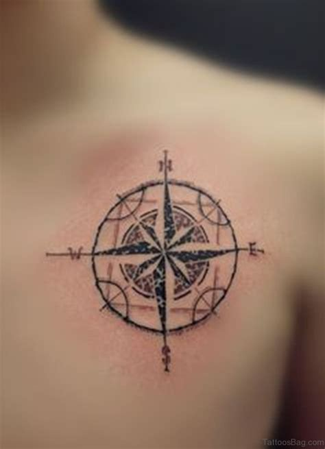 tattoo image 60 excellent compass tattoos designs on back