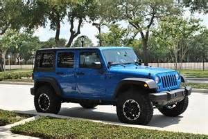 4 Door Jeep Wrangler Blue Blue Jeep Wrangler 4 Door Www Imgkid The Image Kid
