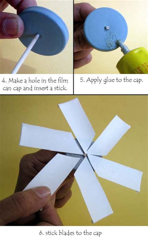 How To Make A Paper Propeller - toys from trash