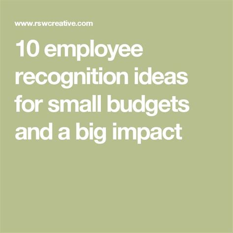staff ideas 25 unique employee recognition ideas on