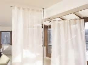 Room Separator Curtain Curtain Room Dividers Ideas To Apply In Your Home