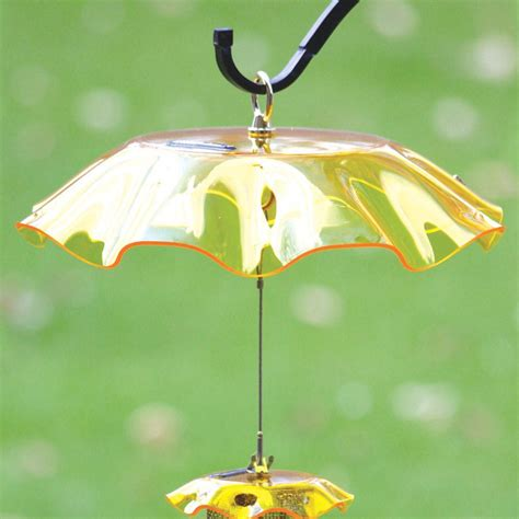 shop birds choice yellow plastic bird feeder weather guard