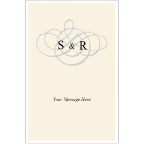 avery half fold greeting card template 3297 templates wedding monogram half fold card 1 per