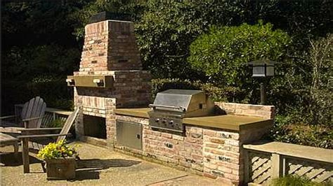 outdoor kitchen backsplash outdoor patio ideas diy brick kitchen backsplash ideas