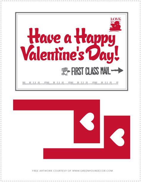 valentine mailbox template