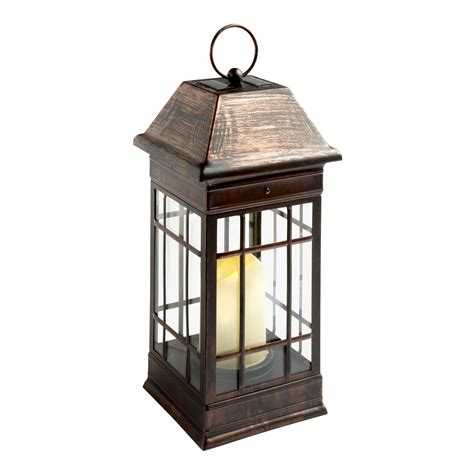 solar light cathedral lantern christmas tree shops andthat
