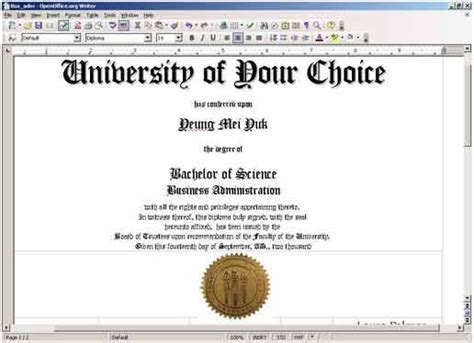 Free Printable College Diploma Fake Diploma Fake Degrees Or College Diplomas Replace Lost Bachelor Degree Template Free