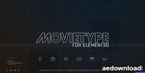 templates after effects free mac motionwork movietype for element 3d win mac free