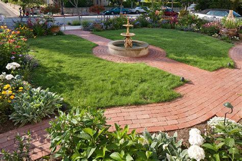 backyard walkway ideas landscaping network brick walkway ideas landscaping network