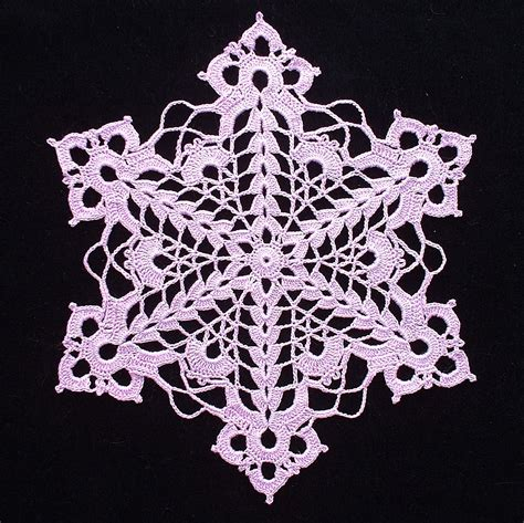 Snowflake Doily Pattern | so far so good cut glass snowflake doily