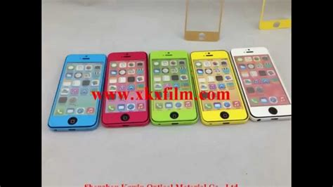 iphone cs color tempered glass screen protector kawin tempered glass screen protector youtube