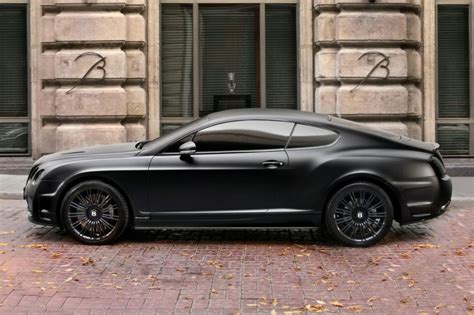 bentley blacked out topcar bentley continental gt blacked out car tuning