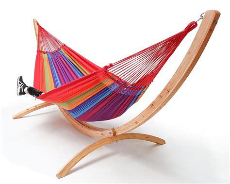 supporto per amaca arc lariks hangmat standaard hout voor tweepersoons