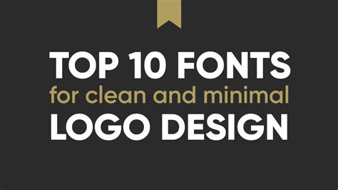 clean professional fonts 10 best professional fonts for logo design clean