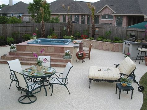 portable hot springs hot tubs shabby chic style patio