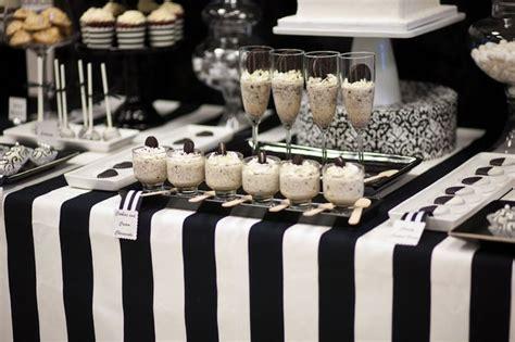 Black And White Dessert Table black and white dessert table 15 happywedd