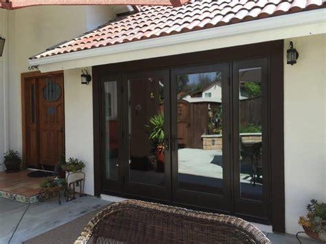 garage door conversion to patio door thermal patio doors milgard fiberglass doors den doors