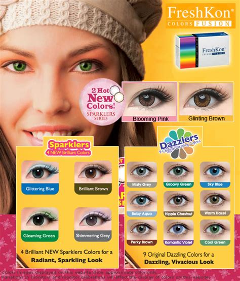 Freshkon Color Fusion Monthly freshkon colors fusion cosmetic contact lenses