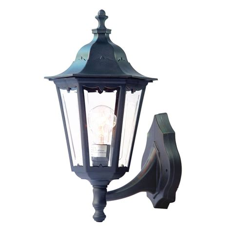 Outdoor Shop Lighting Shop Acclaim Lighting Tidewater 17 In H Matte Black Medium Base E 26 Outdoor Wall Light At