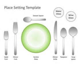 place setting template free place setting template for powerpoint free powerpoint templates slidehunter com