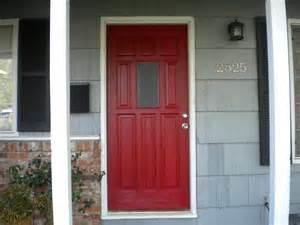 Painting An Exterior Door Painting A Steel Door Black Door 941 Decoration Ideas