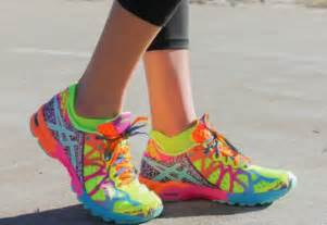 multi colored shoes shoes sportswear multicolor multicolor sneakers asics