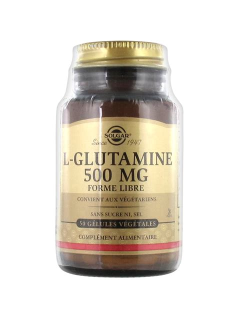 l glutamine vegetables solgar l glutamine 500mg 500 vegetable capsules