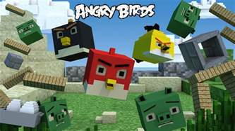 angry birds minecraft minecraft animation