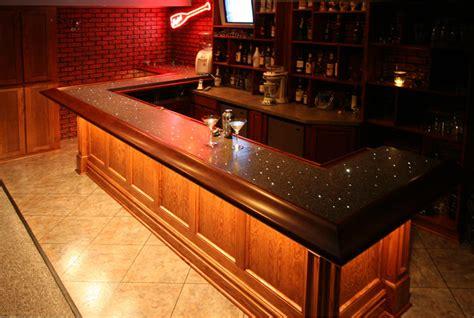 oak creek lower level bar 171 wooden thumb remodeling