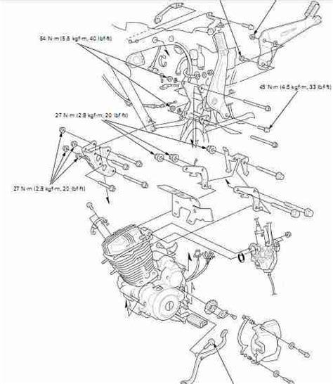 anses dibujo tecnico manual gratis despiece moto honda modelo cgr 125