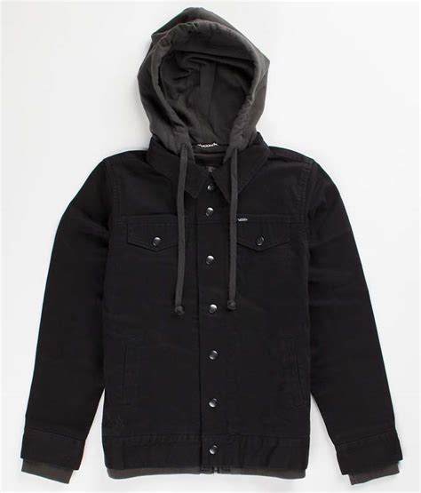 Jaket Parka Vans Kanvas Black vans recalls boy s hooded jackets with drawstrings due to