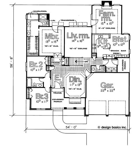 house plan 1978 house plan 120 1800 3 bedroom 1978 sq ft ranch
