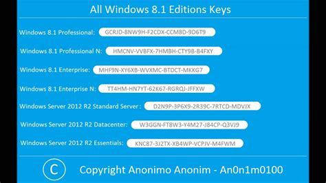 windows 8 1 product key with serial number free