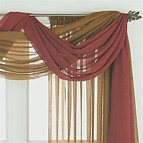 home design and decor pretty window scarf ideas