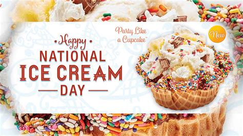buy one get one free offer at cold creamery on july