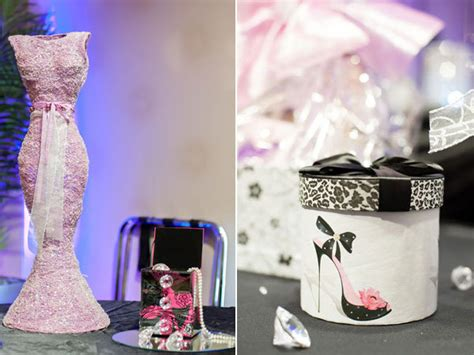 themed bridal shower decorations fashion themed bridal shower bridalguide