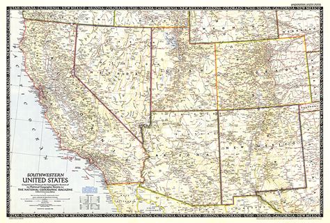 map us southwest southwestern united states map thefreebiedepot