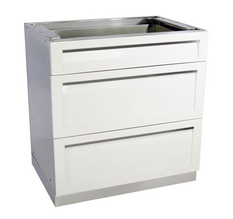 3 drawer outdoor kitchen cabinet 4 life outdoor inc