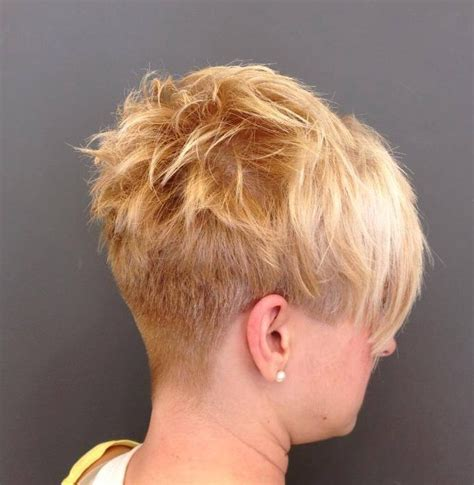 buzzed wedge haircut short nape wedge hairstyles short hairstyle 2013