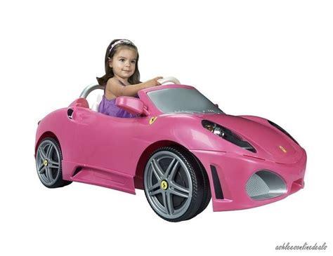 pink kid car pink ride on car toy girls electric kids ferrari children