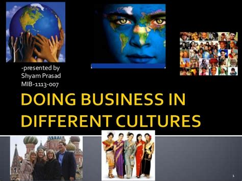 Mib Mba Difference by Doing Business In Different Cultures