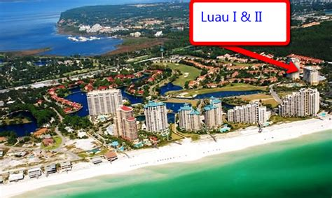 1 Bedroom Condos On The In Destin Florida luau i ii condominiums sandestin florida gena s real