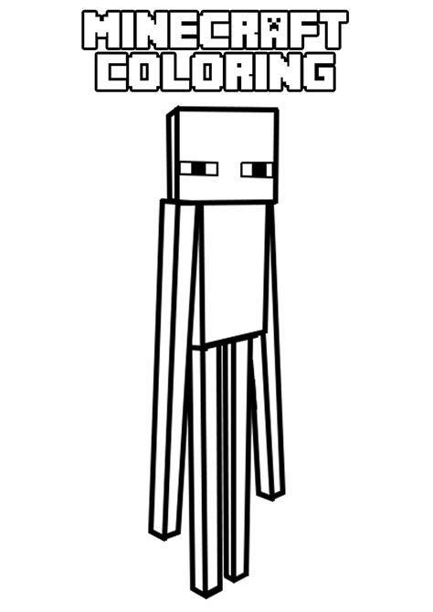 minecraft coloring pages large free coloring pages of big minecraft zombies