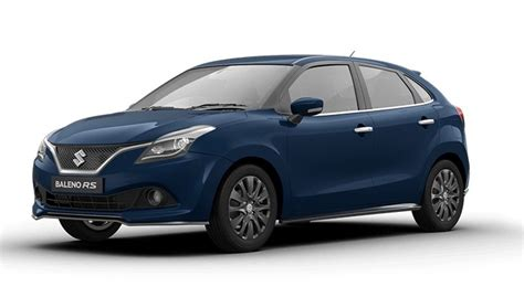 maruti suzuki price in india live maruti baleno rs launch updates price in india inr