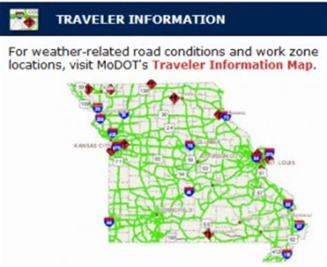 modot traveler map modot weather for holidays can actually cause accidents to spike