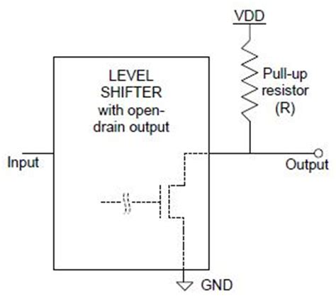 effect pull up resistor interfacing sram jtag signals using a voltage level shifter kba81536 cypress semiconductor