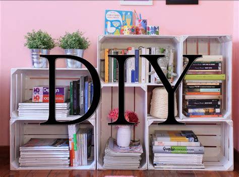 come realizzare una libreria come creare una libreria con le cassette della frutta